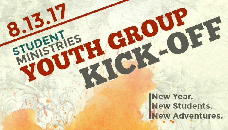 Youth Group Kick-off