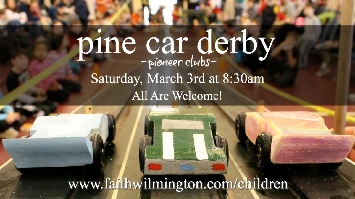 Pine Car Derby