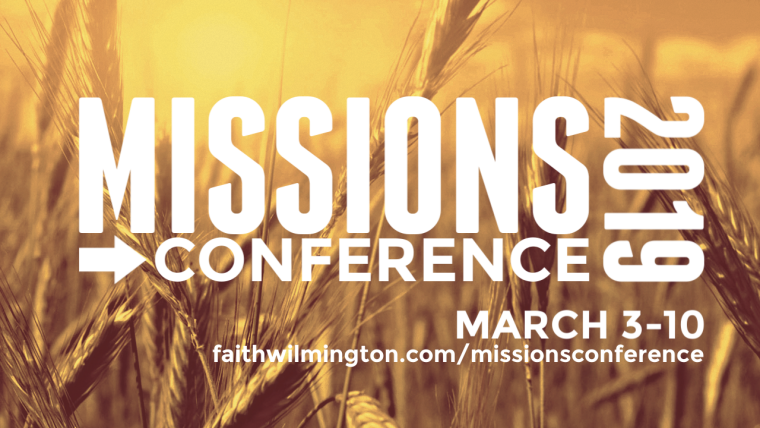 Missions Conference 2019